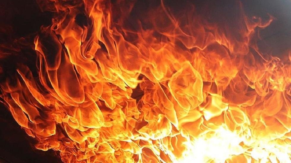Крупный пожар в Алматы: горит гостиница и ресторан
