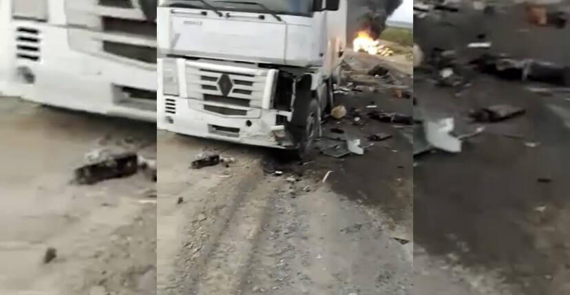 Страшное ДТП с газовозом: один человек погиб, троих успели спасти полицейские