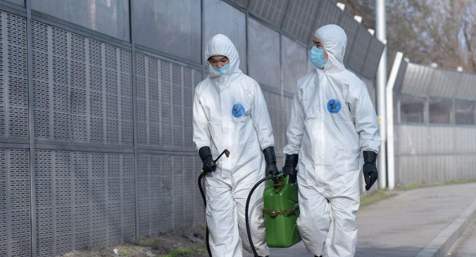 Дезинфекция в Алматы проводится безопасным для жителей раствором - Бекшин