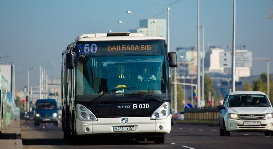 Работу автобусов возобновят с 3 августа в Нур-Султане