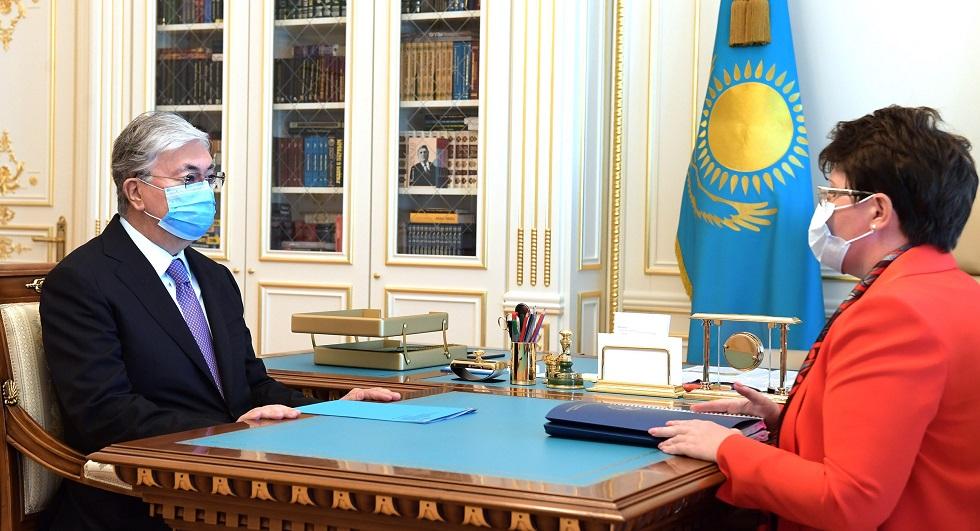 Токаев заслушал отчет председателя Счетного комитета Казахстана