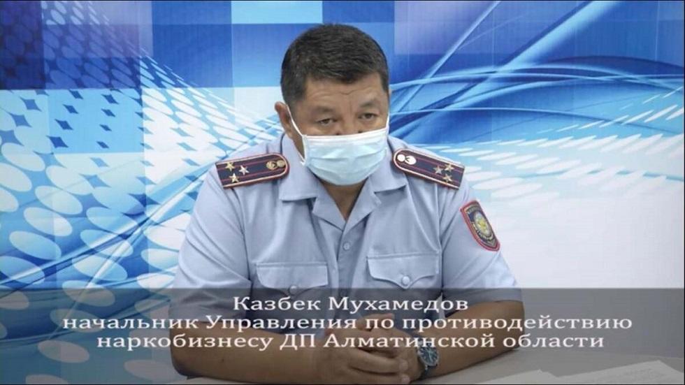 Более четырех тонн наркотиков изъяли полицейские в Алматинской области