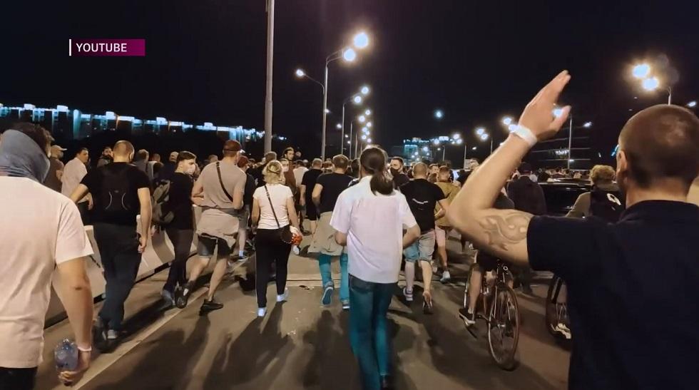 Президентские выборы в Белоруссии: прошла вторая ночь протесов