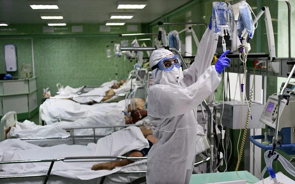 В России за сутки умер 121 человек с COVID-19