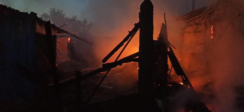 Семья из четырех человек погибла из-за неосторожного обращения с огнем в СКО