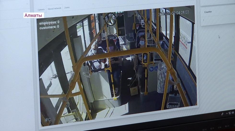 Камеры в общественном транспорте выявили более 1700 нарушений масочного режима в Алматы