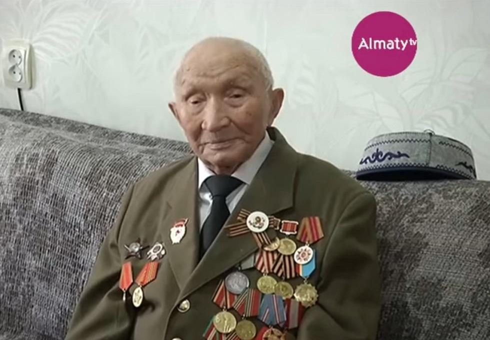 Ұлы Отан соғысының ардагері Қайырлы Жонқабаев 99 жасқа толды