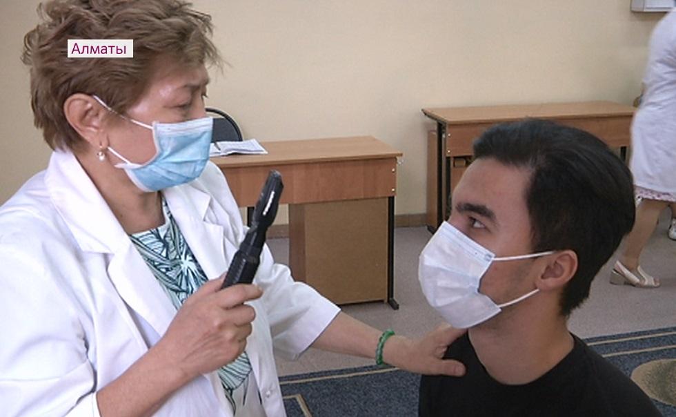 В Алматы призывники пройдут двухразовое ПЦР-обследование