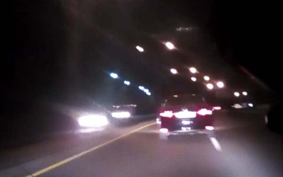 Полицейские устроили погоню за особо опасным пьяным водителем