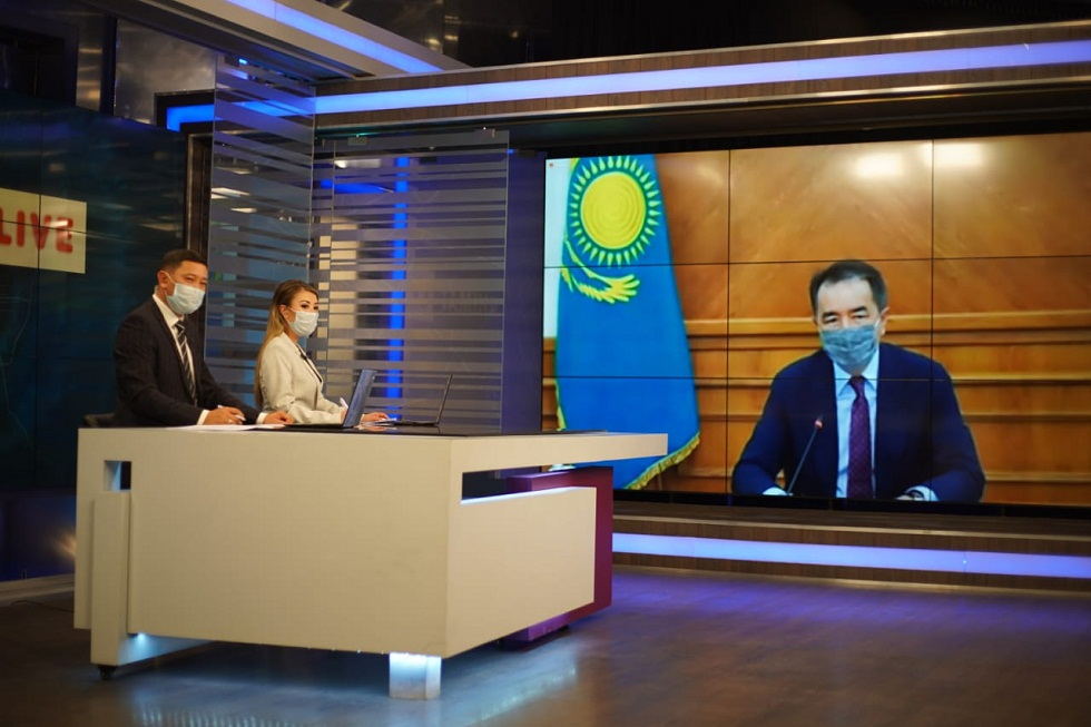 Бакытжан Сагинтаев ответил на вопросы алматинцев в эфире Akimat LIVE (16.09.2020)