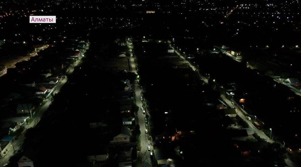 В Алматы проведут освещение на 1400 улицах