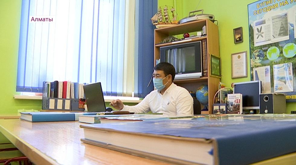 В школах Алматы прошли открытые уроки, посвященные Дню города