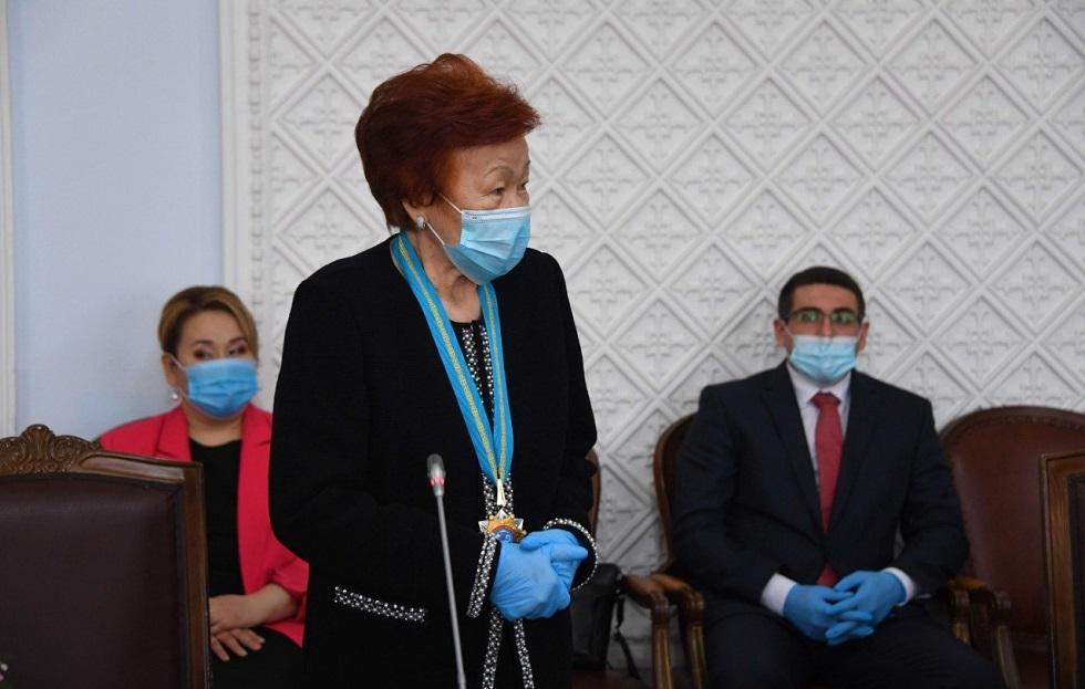 Хотелось бы, чтобы молодежь знала имена людей, внесших вклад в становление и развитие Алматы - Шамша Беркимбаева