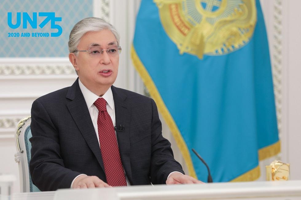 Касым-Жомарт Токаев выступил на мероприятии высокого уровня в ознаменование 75-летия ООН