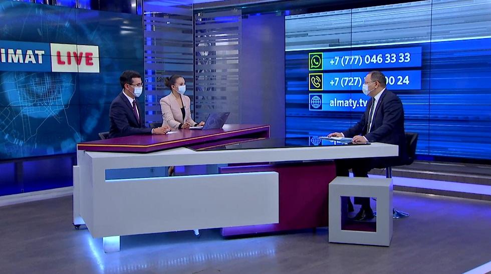 Алтай Рахимбетов ответил на вопросы горожан в эфире Akimat LIVE