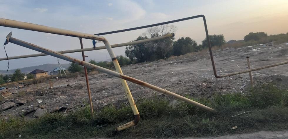 Авария в Алматы: КамАЗ оставил без газа больше двухсот домов
