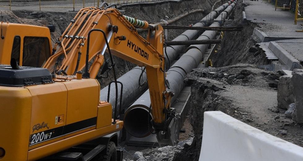 Алматы без окраин: строительство водопроводных и канализационных сетей ведется в Наурызбайском районе