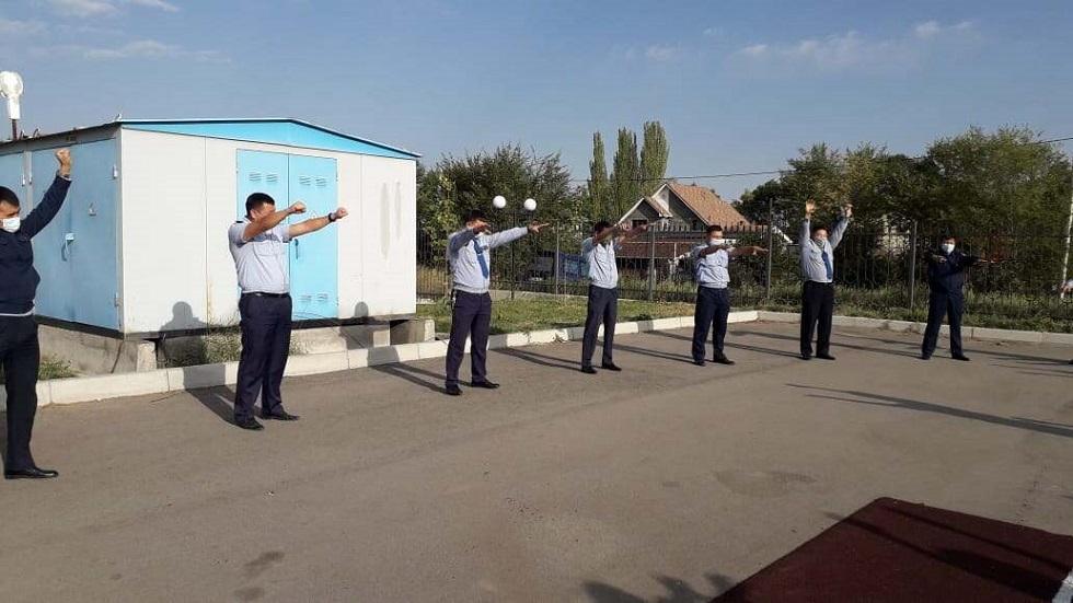 Полицейских Алматинской области учили не поддаваться стрессам и депрессии