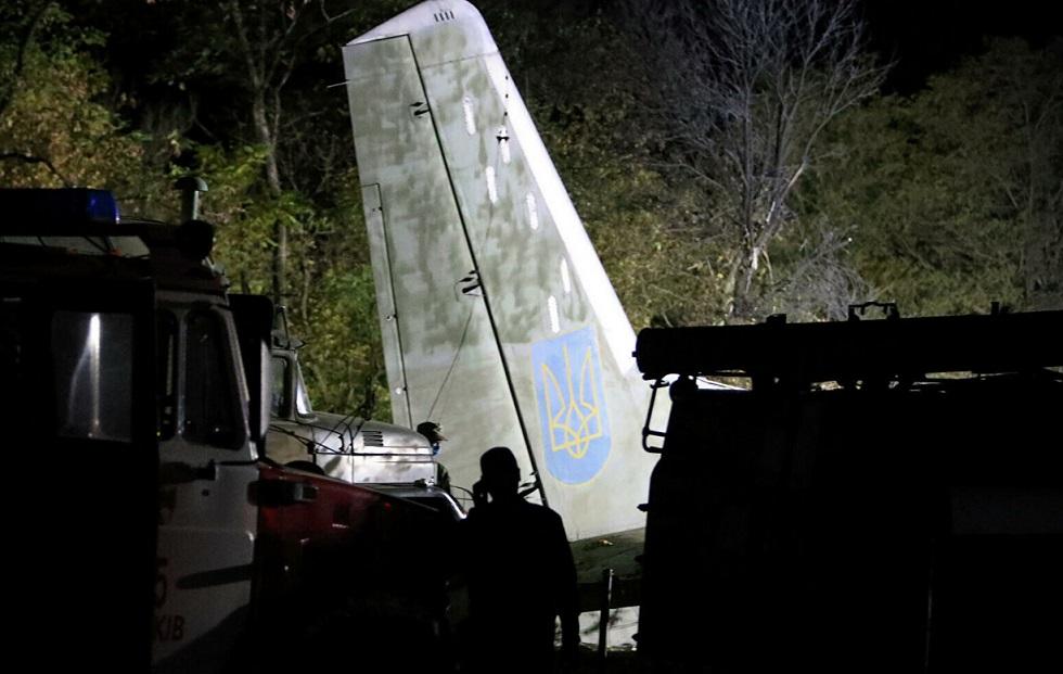 Крушение самолета на Украине: количество жертв увеличилось