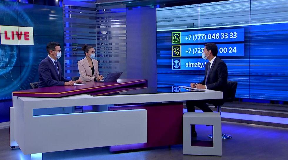 AKIMAT LIVE эфирінде Азамат Қалдыбеков