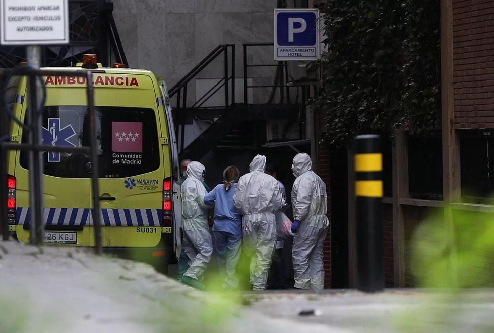 Коронавирус: Мадрид в изоляции