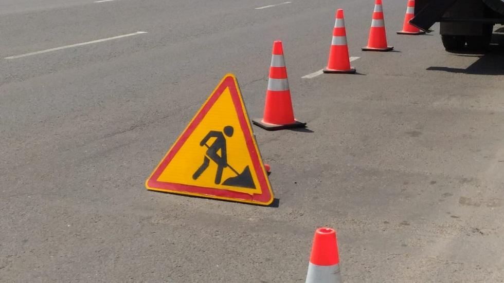 В Нур-Султане перекрыли участок на проспекте Туран