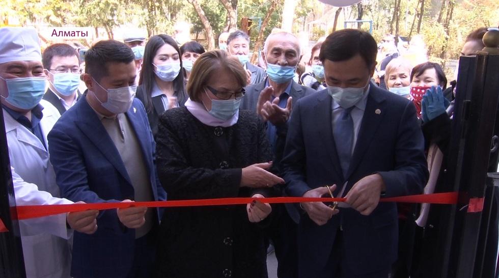 Cемейно-врачебный центр торжественно открыли в Жетысуском районе Алматы