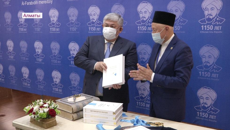 Әлемде тұңғыш рет «Әл-Фараби» энциклопедиясы жарық көрді