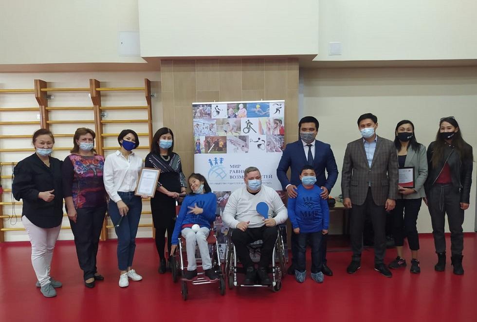 Спортивные секции для особенных детей впервые открылись в Алматы