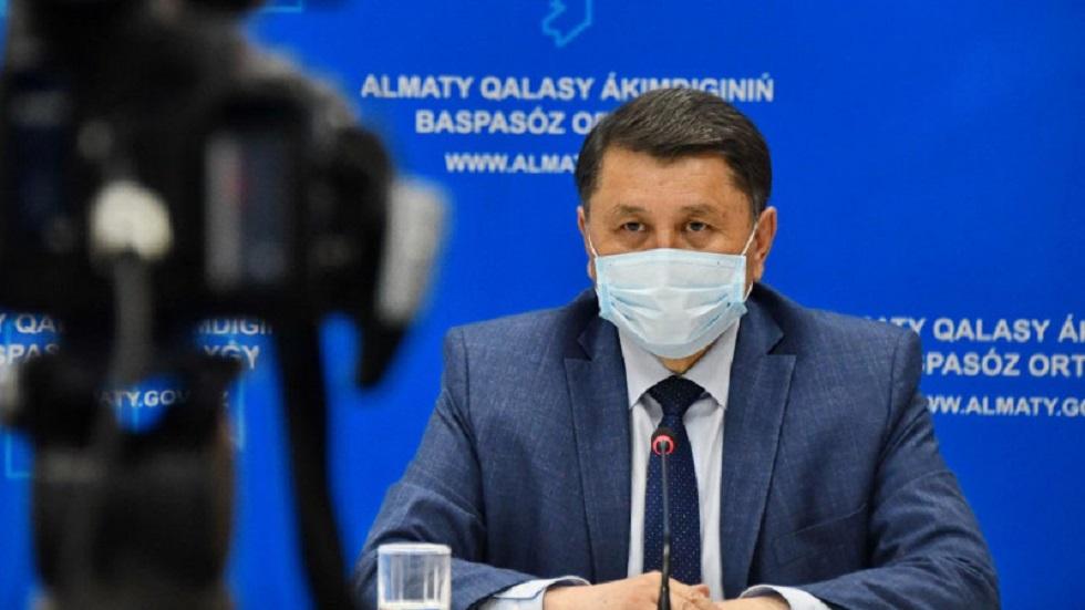 Жандарбек Бекшин ответит на вопросы алматинцев в эфире Akimat LIVE