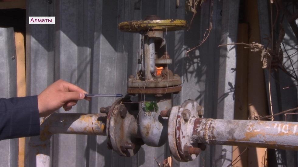 Кража природного газа выявлена в одном из ЖК Алматы