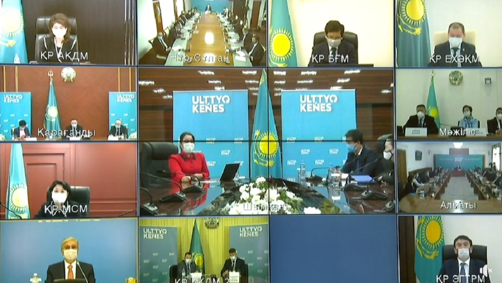 Касым-Жомарт Токаев провел четвертое заседание Национального совета общественного доверия