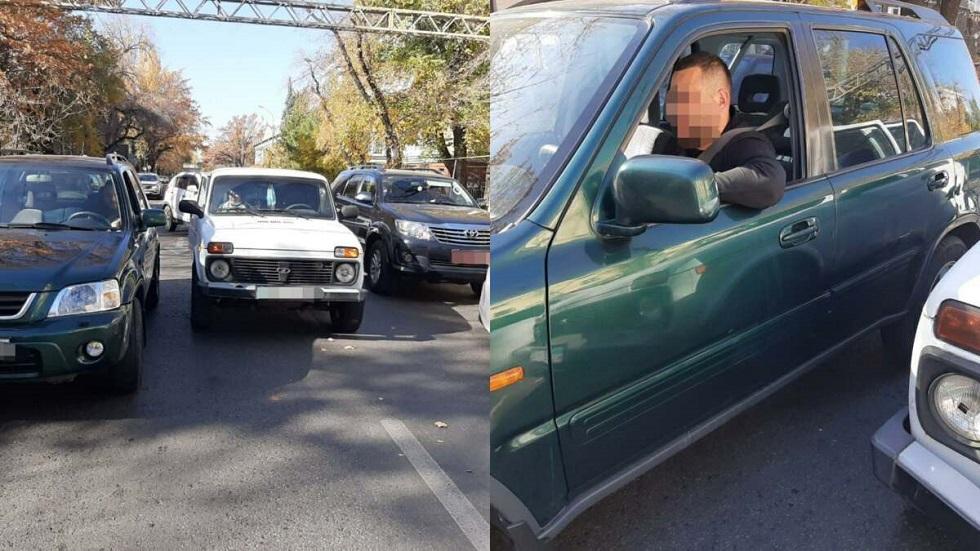 Пьяный водитель совершил ДТП в центре Алматы
