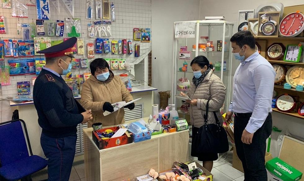 Результаты работы мониторинговых групп в Алматы: какие санкции применят к нарушителям карантина