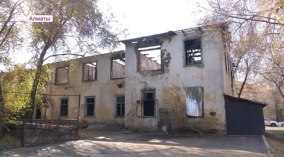 Акимат Алматы оперативно решает проблему с аварийным объектом в Медеуском районе