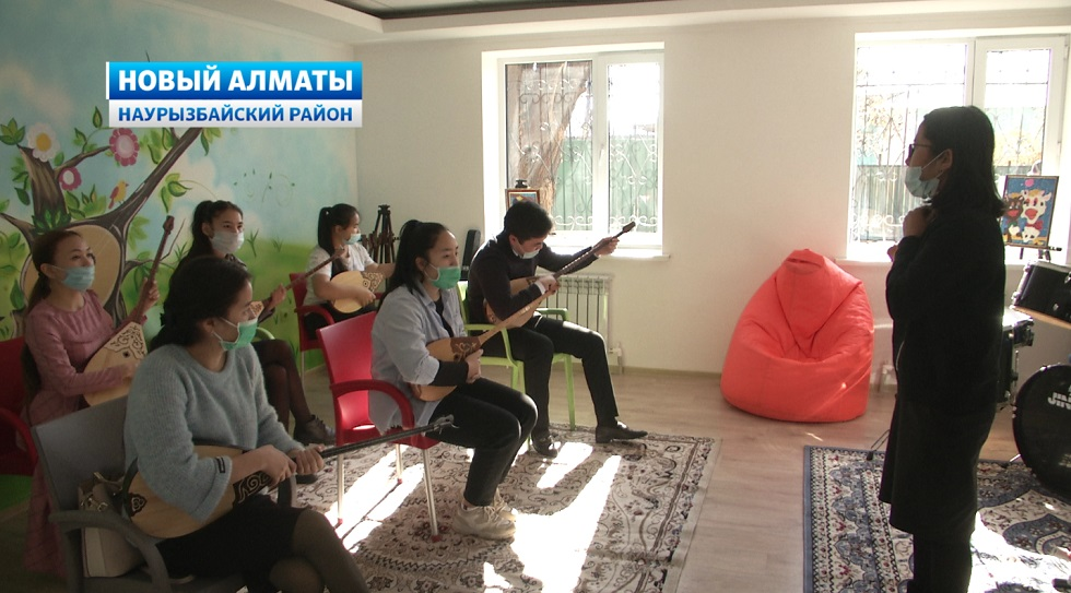 Уникальный музыкальный центр открыли в Новом Алматы