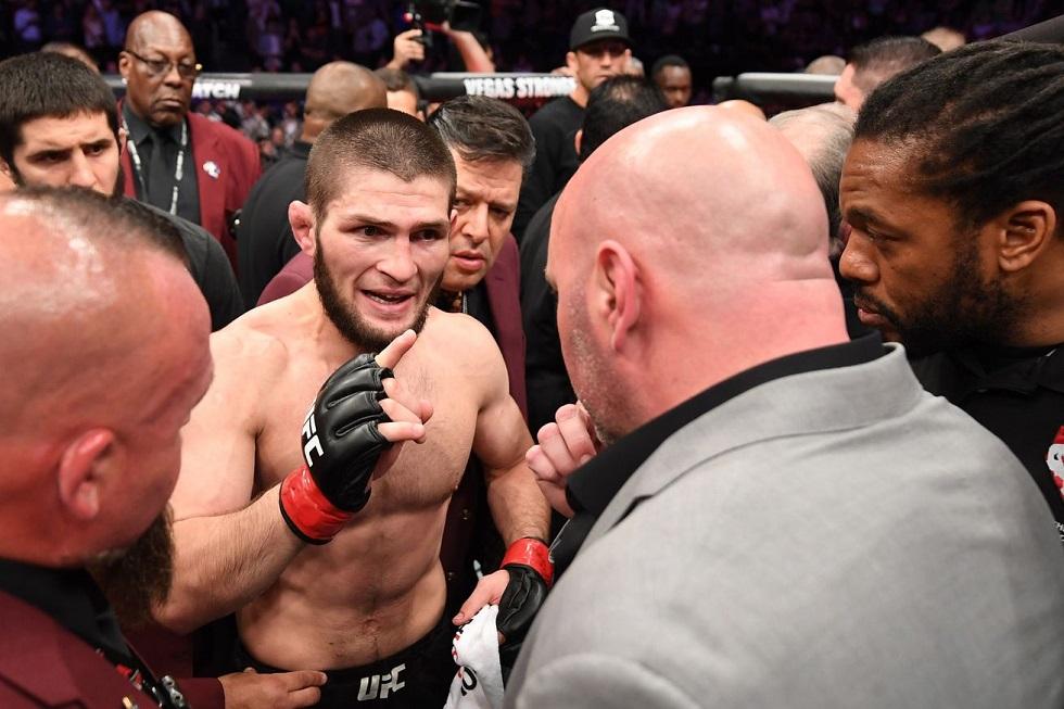 Глава UFC не считает Хабиба лучшим бойцом MMA в истории