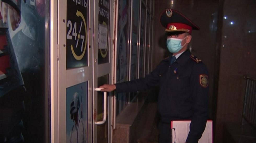 Более 180 человек оштрафовали за нарушение масочного режима в общественных местах Алмалинского района