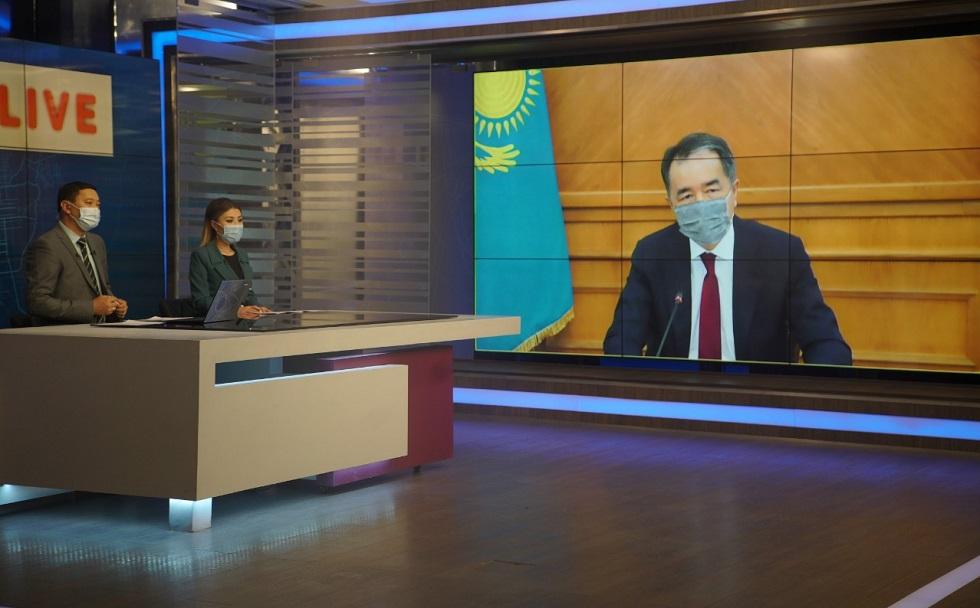 Б. Сагинтаев рассказал о санитарно-эпидемиологической ситуации в Алматы