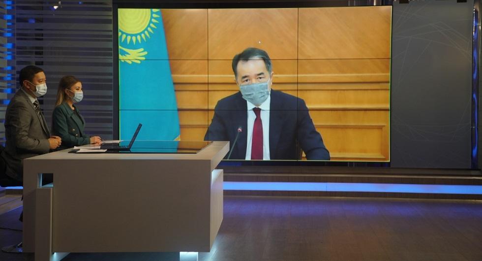 Нужно проявить алматинскую солидарность - Б. Сагинтаев обратился к предпринимателям