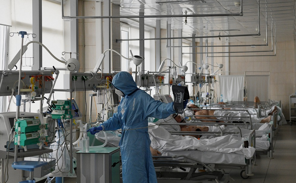 Россия обновила рекорд по числу заболевших COVID-19 за сутки