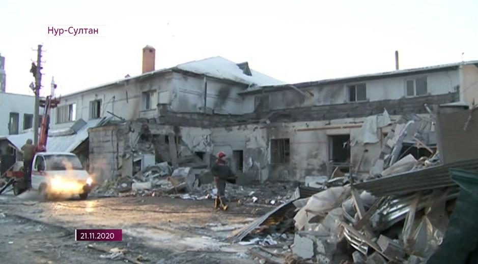 Взрыв в кафе Нур-Султана: число жертв увеличилось