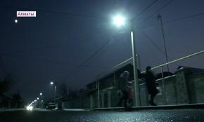 Новый Алматы: современные фонари появились в Наурызбайском районе