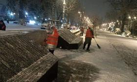 Снег в Алматы: как проводится работа по снегоуборке в городе
