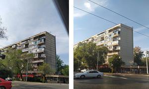 Фасады жилых домов в Алмалинском районе обретут новый облик