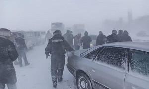 Жамбыл облысында төтеншеліктер 51 адамды қар құрсауынан құтқарды