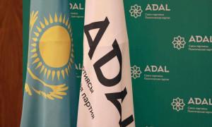 ADAL партиясы мәжіліс депутаттығына 16 кандидаттың құжатын тапсырды