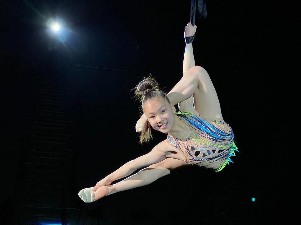 Юная казахстанка завоевала престижную награду на Международном фестивале циркового искусства