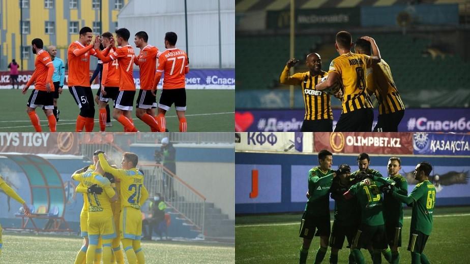 Завершился очередной сезон чемпионата Казахстана по футболу