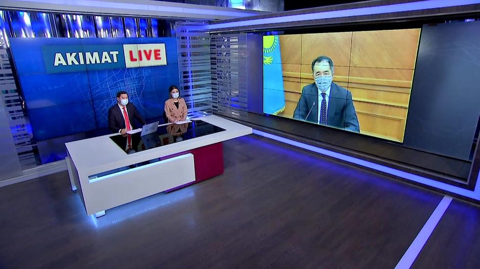 Аким Алматы призвал предпринимателей строго cоблюдать все санитарные нормы